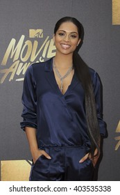 LOS ANGELES - APR 9:  Lilly Singh at the 2016 MTV Movie Awards Arrivals at the Warner Brothers Studio on April 9, 2016 in Burbank, CA