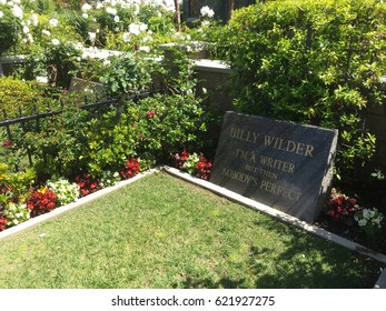 LOS ANGELES - April 13, 2017: Billy Wilder was an Austrian-born Jewish American filmmaker, screenwriter, producer, artist and journalist, whose career spanned more than fifty years and sixty films.