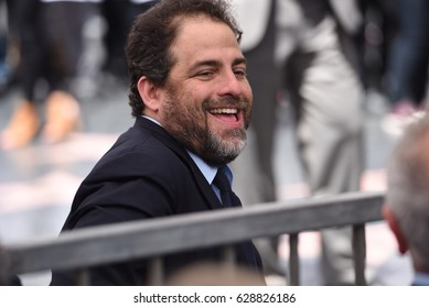 LOS ANGELES - APRIL 26: Brett Ratner at the celebrity chef, restaurateur Wolfgang Puck's Hollywood walk of fame star receiving ceremony at Hollywood Blvd on April 26, 2017 in Los Angeles, CA.
