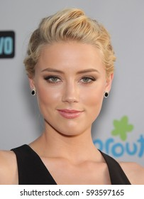LOS ANGELES - AUG 02:  Amber Heard arrives for the Summer 2011 TCA Party-NBC on August 1, 2011 in Beverly Hills, CA