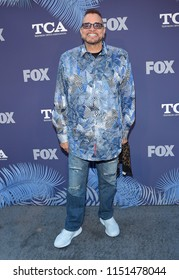 LOS ANGELES - AUG 02:  Sinbad arrives to the FOX Summer TCA 2018 All-Star Party  on August 2, 2018 in Hollywood, CA