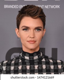 LOS ANGELES - AUG 04:  Ruby Rose arrives for the CW's Summer TCA All Star Party on August 04, 2019 in Beverly Hills, CA