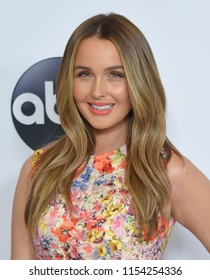 LOS ANGELES - AUG 07:  Camilla Luddington arrives to the ABC TCA Summer Press Tour White Carpet Event  on August 7, 2018 in Hollywood, CA
