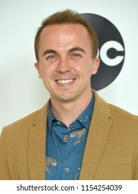LOS ANGELES - AUG 07:  Frankie Muniz arrives to the ABC TCA Summer Press Tour White Carpet Event  on August 7, 2018 in Hollywood, CA