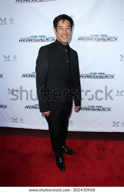"""LOS ANGELES - AUG 1:  Grant Imahara at the """"Star Trek: Renegades"""" Premiere at the Crest Theater on August 1, 2015 in Westwood, CA"""