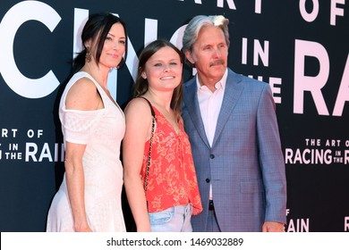 "LOS ANGELES - AUG 1:  Guest, Mary Cole, Gary Cole at the ""The Art of Racing in the Rain"" World Premiere at the El Capitan Theater on August 1, 2019 in Los Angeles, CA"