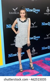 """LOS ANGELES - AUG 1:  Lilimar Hernandez at the """"Nine Lives"""" Premiere at the TCL Chinese Theater IMAX on August 1, 2016 in Los Angeles, CA"""