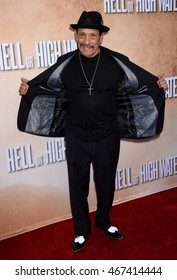 """LOS ANGELES - AUG 10:  Danny Trejo arrives to the """"Hell or High Water"""" Los Angeles Special Screening  on August 10, 2016 in Hollywood, CA"""