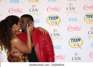 LOS ANGELES - AUG 10:  Jordin Sparks, Jason Derulo at the 2014 Teen Choice Awards at Shrine Auditorium on August 10, 2014 in Los Angeles, CA