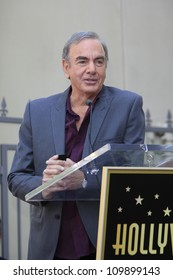 LOS ANGELES - AUG 10: Neil Diamond at a ceremony honoring Neil Diamond with the 2,475th Star on the Hollywood Walk of Fame on August 10, 2012 in Los Angeles, California