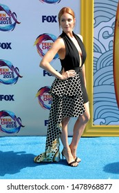 LOS ANGELES - AUG 11:  Brittany Snow at the Teen Choice Awards 2019 at Hermosa Beach on August 11, 2019 in Hermosa Beach, CA