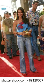 LOS ANGELES - AUG 11: Brooke Burke at the 'Open Range' premiere on August 11, 2003 in Los Angeles, California