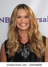 LOS ANGELES - AUG 11:  ELLE MacPHERSON arriving to Summer TCA Party 2011 - NBC  on August 11, 2011 in Beverly Hills, CA