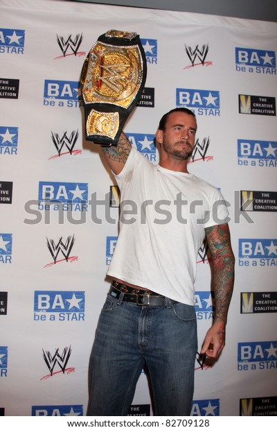 """LOS ANGELES - AUG 11:  phillip jack brooks aka cm punk""""  arriving at the """"be A STAR"""" Summer Event  at Andaz Hotel on August 11, 2011 in Los Angeles, CA"""