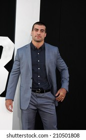 """LOS ANGELES - AUG 11:  Thomas Canestraro at the """"Expendables 3"""" Premiere at TCL Chinese Theater on August 11, 2014 in Los Angeles, CA"""