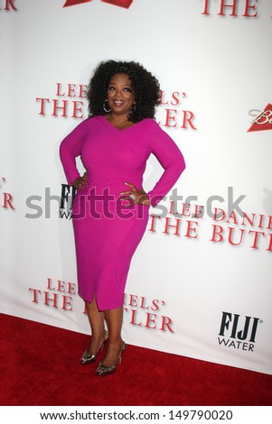 "LOS ANGELES - AUG 12:  Oprah Winfrey at the ""Lee Daniels' The Butler"" LA Premiere at the Regal 14 Theaters on August 12, 2013 in Los Angeles, CA"
