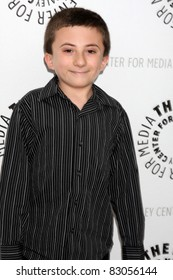 """LOS ANGELES - AUG 13:  Atticus Shaffer at the Disney's """"Fish Hooks"""" PaleyFest Family 2011 Event at Paley Center for Media on the August 13, 2011 in Beverly Hills, CA"""