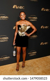 LOS ANGELES - AUG 13:  Melanie Liburd at the NBC And Universal EMMY Nominee Celebration at the Tesse Restaurant on August 13, 2019 in West Hollywood, CA