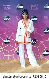 LOS ANGELES - AUG 15:  Jeannie Mai at the ABC Summer TCA All-Star Party at the SOHO House on August 15, 2019 in West Hollywood, CA