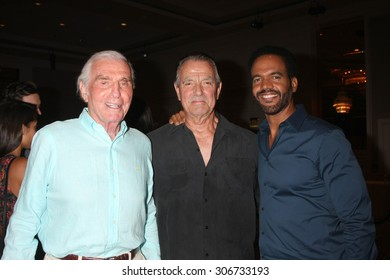 "LOS ANGELES - AUG 15:  Jerry Douglas, Eric Braeden, Kristoff St. John at the ""The Young and The Restless"" Fan Club Event at the Universal Sheraton Hotel on August 15, 2015 in Universal City, CA"