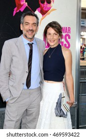 """LOS ANGELES - AUG 15:  Todd Phillips, wife at the War Dogs"""" Premiere at the TCL Chinese Theater IMAX on August 15, 2016 in Los Angeles, CA"""