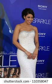 LOS ANGELES - AUG 16: Jordin Sparks at the Los Angeles Premiere of 'Sparkle' at Grauman's Chinese Theater on August 16, 2012 in Los Angeles, California