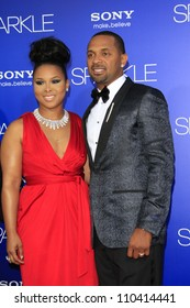LOS ANGELES - AUG 16: Mike Epps, Michelle McCain at the Los Angeles Premiere of 'Sparkle' at Grauman's Chinese Theater on August 16, 2012 in Los Angeles, California