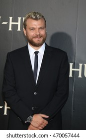 """LOS ANGELES - AUG 16:  Pilou Asbaek at the """"Ben-Hur"""" Premiere at the TCL Chinese Theater IMAX on August 16, 2016 in Los Angeles, CA"""
