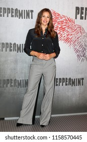 """LOS ANGELES - AUG 17:  Jennifer Garner at the Photo Call For STX Films' """"Peppermint"""" at the Four Seasons Hotel on August 17, 2018 in Beverly Hills, CA"""