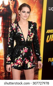 """LOS ANGELES - AUG 18:  Kristen Stewart at the """"American Ultra"""" Premiere at the Theater at Ace Hotel on August 18, 2015 in Los Angeles, CA"""