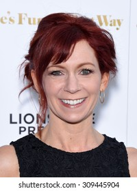 """LOS ANGELES - AUG 19:  Carrie Preston arrives to the """"She's Funny That Way"""" Los Angeles Premiere  on August 19, 2015 in Hollywood, CA"""