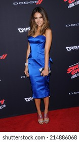 """LOS ANGELES - AUG 19:  Jessica Alba arrives to the """"Sin City: A Dame To Kill For"""" Los Angeles Premiere  on August 19, 2014 in Hollywood, CA"""