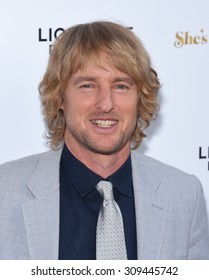 """LOS ANGELES - AUG 19:  Owen Wilson arrives to the """"She's Funny That Way"""" Los Angeles Premiere  on August 19, 2015 in Hollywood, CA"""