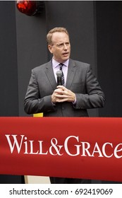 """LOS ANGELES - AUG 2:  Bob Greenblatt at the """"Will & Grace"""" Start of Production Kick Off Event at the Universal Studios on August 2, 2017 in Universal City, CA"""