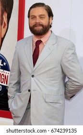 """LOS ANGELES - AUG 2:  Zach Galifianakis at the """"The Campaign"""" Premiere at the TCL Chinese Theater IMAX on August 2, 2012 in Los Angeles, CA"""