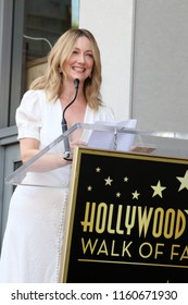 LOS ANGELES - AUG 20:  Judy Greer at the Jennifer Garner Star Ceremony on the Hollywood Walk of Fame on August 20, 2018 in Los Angeles, CA