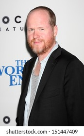 """LOS ANGELES - AUG 21:  Joss Whedon at """"The World's End"""" Premiere at the ArcLight Hollywood Theaters on August 21, 2013 in Los Angeles, CA"""