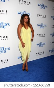 """LOS ANGELES - AUG 21:  Tracie Thoms at """"The World's End"""" Premiere at the ArcLight Hollywood Theaters on August 21, 2013 in Los Angeles, CA"""