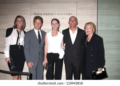 """LOS ANGELES - AUG 23:  Colleen Bell, Bradley Bell, Lauralee Bell, Bill Bell, Jr; Lee Phillip Bell  arrive at """"The Young & Restless"""" at the Paley Centeron August 23, 2012 in Beverly Hills, CA"""