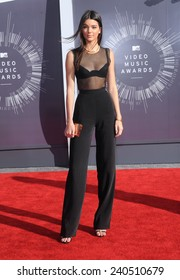 LOS ANGELES - AUG 24:  Kendall Jenner arrives to the 2014 Mtv Vidoe Music Awards on August 24, 2014 in Los Angeles, CA