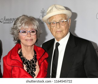 LOS ANGELES - AUG 25:  Rita Moreno, Norman Lear at the 33rd Annual Imagen Awards at the JW Marriott Hotel on August 25, 2018 in Los Angeles, CA