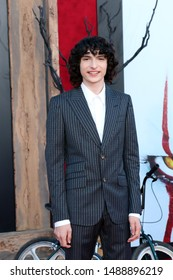 "LOS ANGELES - AUG 26:  Finn Wolfhard at the ""It Chapter Two"" Premiere at the Village Theater on August 26, 2019 in Westwood, CA"