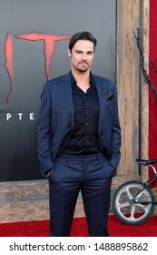 "LOS ANGELES - AUG 26:  Jay Ryan at the ""It Chapter Two"" Premiere at the Village Theater on August 26, 2019 in Westwood, CA"