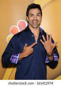 LOS ANGELES - AUG 27:  Eddie Judge arrives to NBC All Star Summer TCA Party 2013  on July 27, 2013 in Beverly Hills, CA