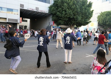 Los Angeles, AUG 27: Superb Nisei Week Festival closing ceremony on AUG 27, 2017 at Little Tokyo, Los Angeles, California, U.S.A.