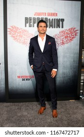 "LOS ANGELES - AUG 28:  Juan Pablo Raba at the ""Peppermint"" World Premiere at the Regal Cinemas L.A. LIVE on August 28, 2018 in Los Angeles, CA"