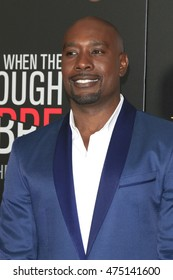 """LOS ANGELES - AUG 28:  Morris Chestnut at the """"When The Bough Breaks"""" Premiere at the Regal LA Live Stadium 14 on August 28, 2016 in Los Angeles, CA"""