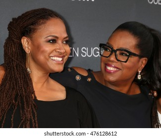 """LOS ANGELES - AUG 29:  Ava DuVernay, Oprah Winfrey at the Premiere Of OWN's """"Queen Sugar"""" at the Warner Brothers Studios on August 29, 2016 in Burbank, CA"""