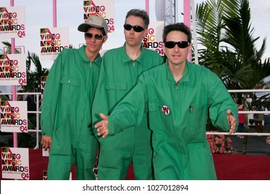 LOS ANGELES - AUG 29:  Beastie Boys arrives to the Mtv Video Music Awards  on August 29, 2004 in Miami, FL.