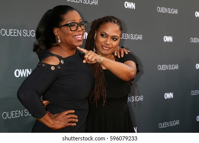 """LOS ANGELES - AUG 29:  Oprah Winfrey, Ava DuVernay at the Premiere Of OWN's """"Queen Sugar"""" at the Warner Brothers Studios on August 29, 2016 in Burbank, CA"""